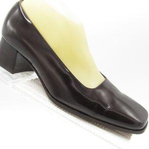 Ralph Lauren Size 7.5C Chunky Heels Loafer Womens